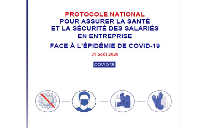 Covid-19 : nouveau protocole pour assurer la santé et la sécurité des salariés en entreprise