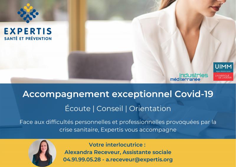 Accompagnement Covid-19 : une assistante sociale à votre service