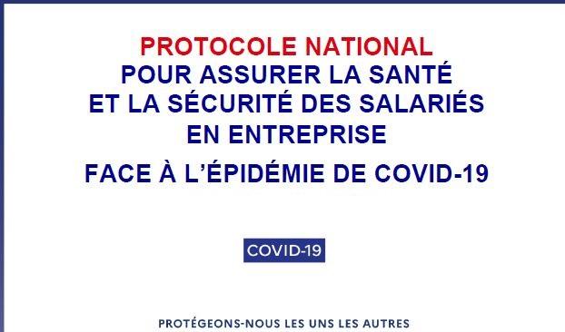 Covid-19 : mise à jour du protocole national en entreprise au 10 septembre 2021