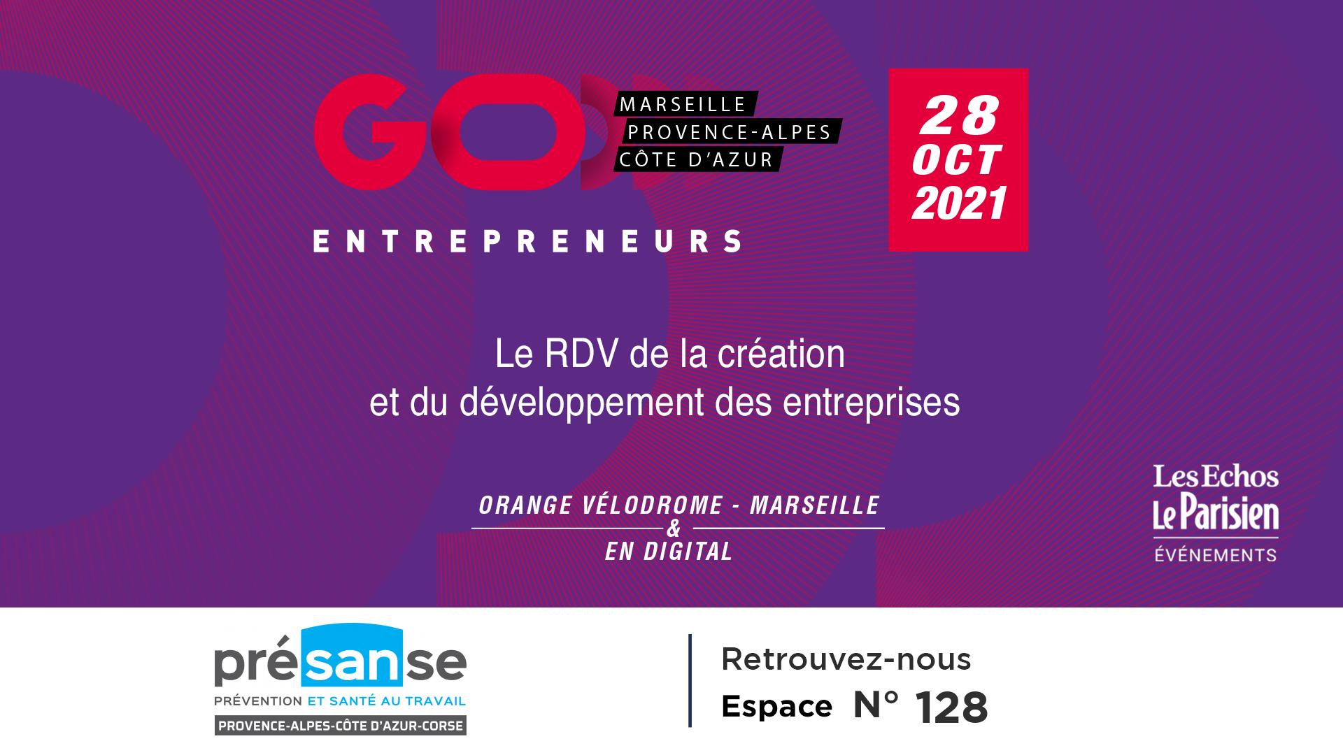 28 octobre 2021 - Salon Go Entrepreneurs
